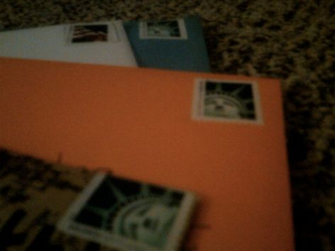 blessings, stamped and ready for sending